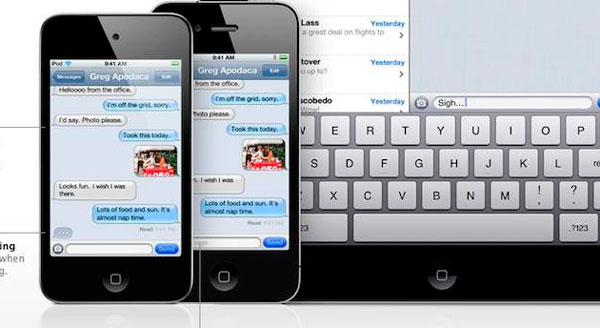 iMessage de Apple