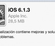 iOS 6.1.3 ya está disponible para iPad, iPhone y iPod touch