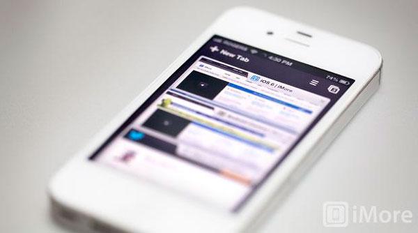 iPhone 5 navegadores