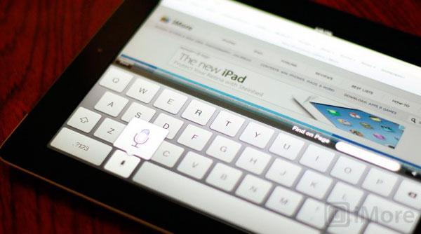 Función dictado del nuevo iPad