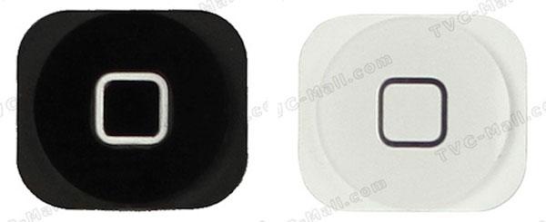 Posibles botones para el iPhone 5
