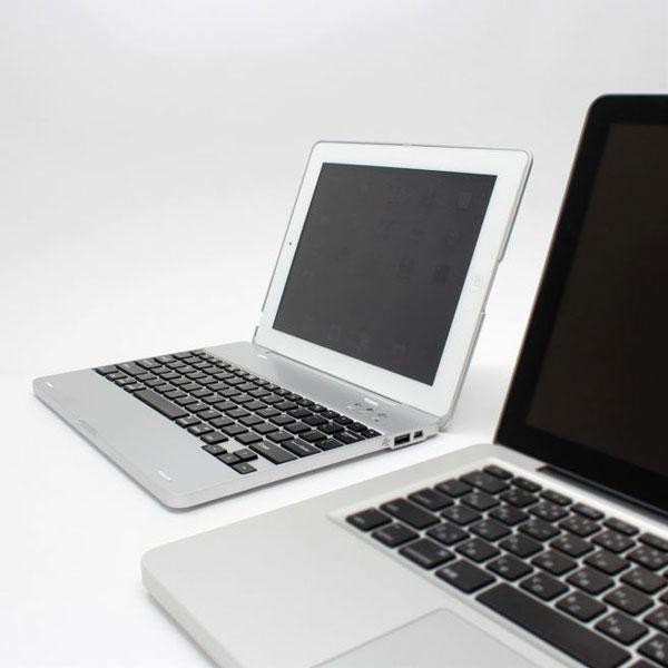 Carcasa con teclado para iPad