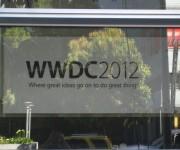 Cartel WWDC 2012 en Moscone Center