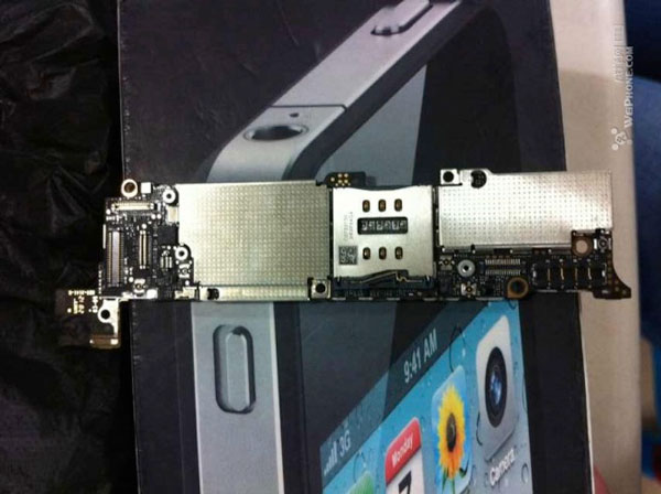 Frontal placa base iPhone 5