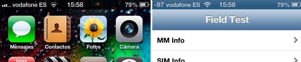 Cobertura numérica en iPhone sin Jailbreak