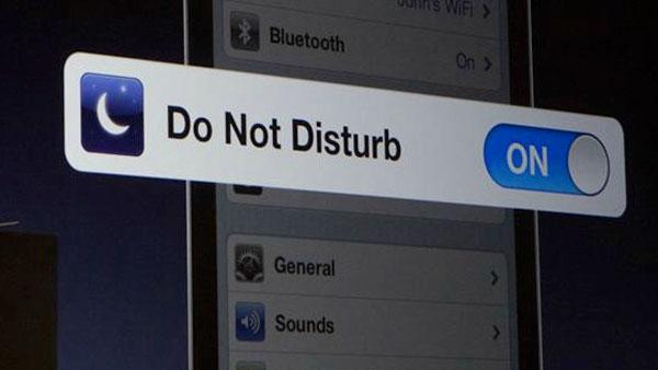 No molestar iOS
